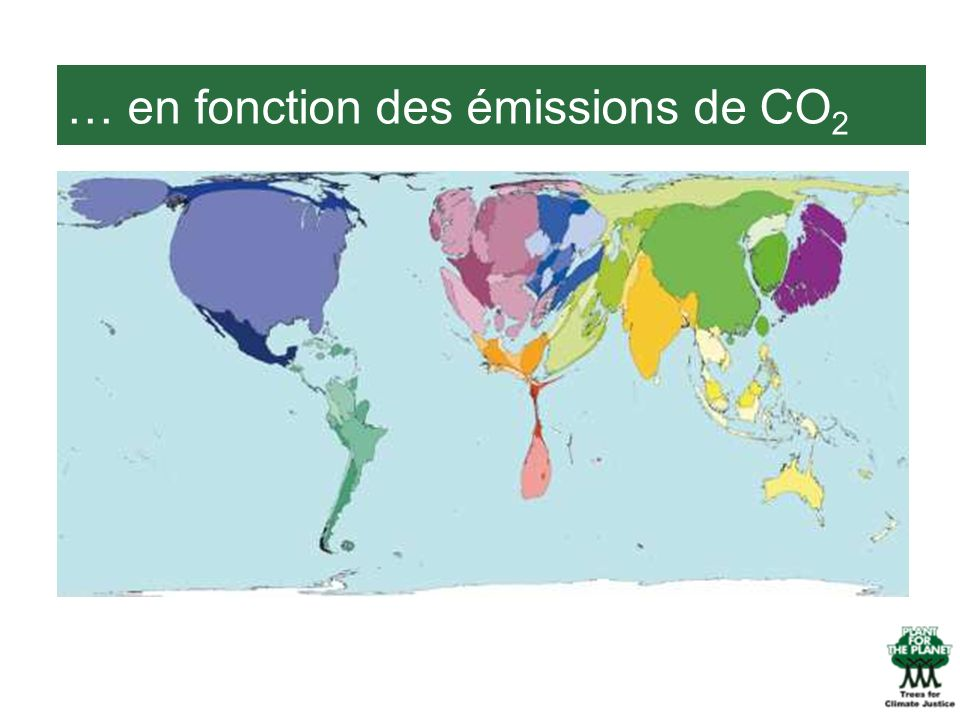 … en fonction des émissions de CO 2