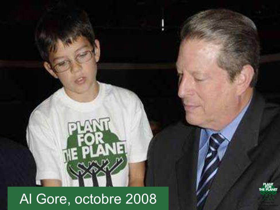Al Gore, octobre 2008