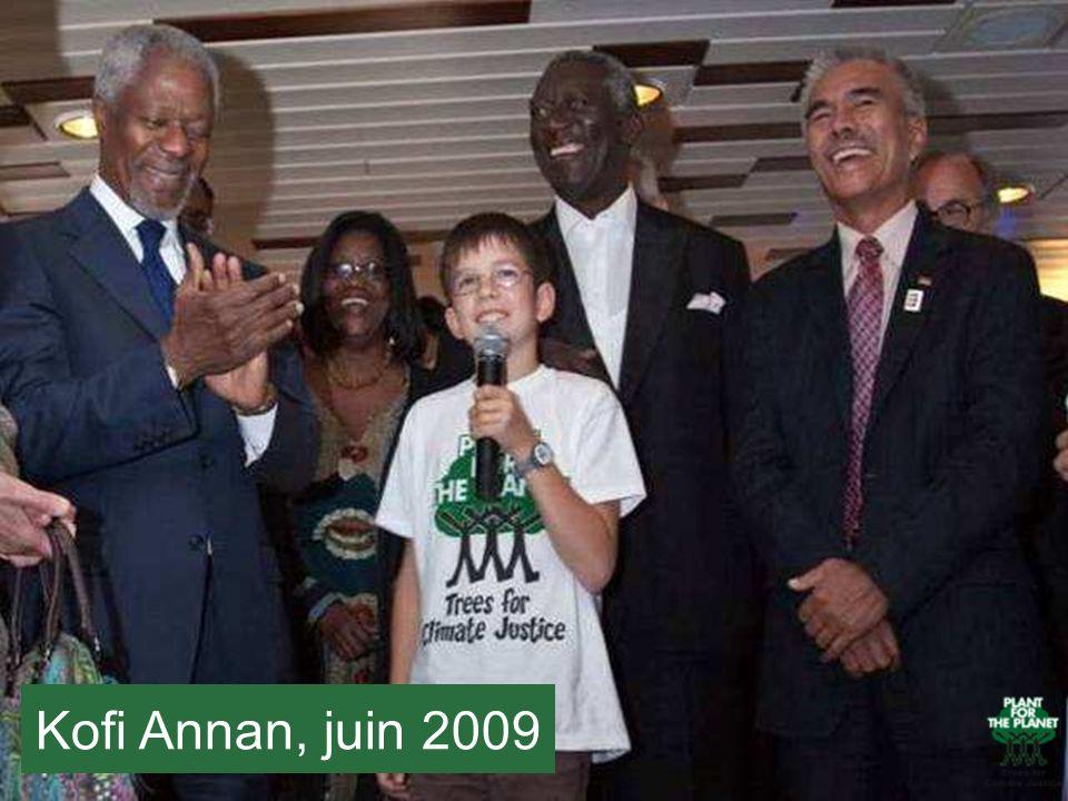Kofi Annan, juin 2009