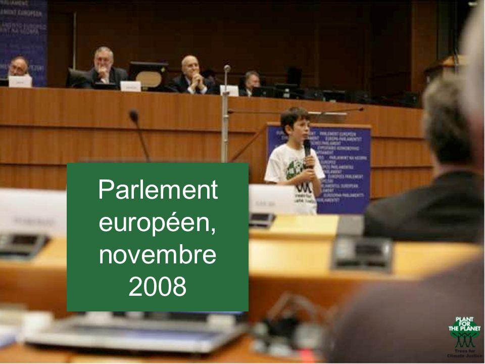Parlement européen, novembre 2008