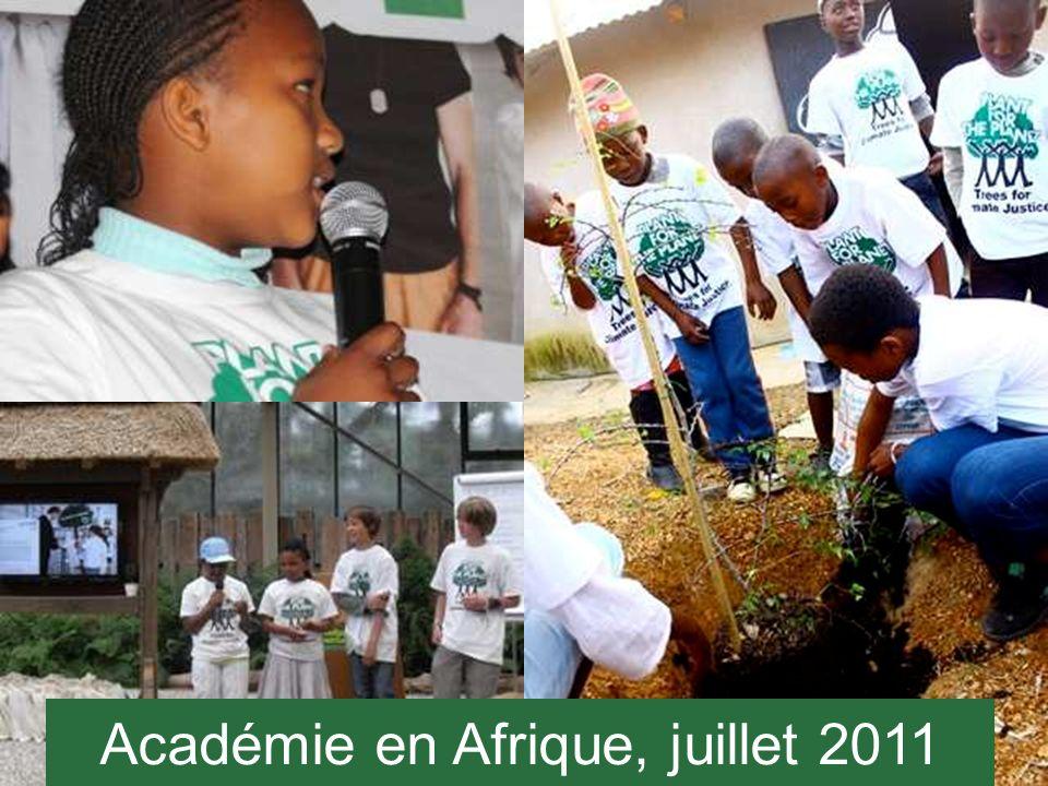 Académie en Afrique, juillet 2011