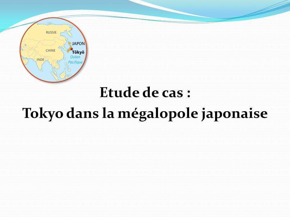 Etude de cas 1 – Quest-ce qui fait de Tokyo une grande métropole .