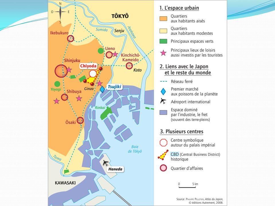 Etude de cas 2 - En quoi la métropole de Tokyo organise-t- elle lespace régional .