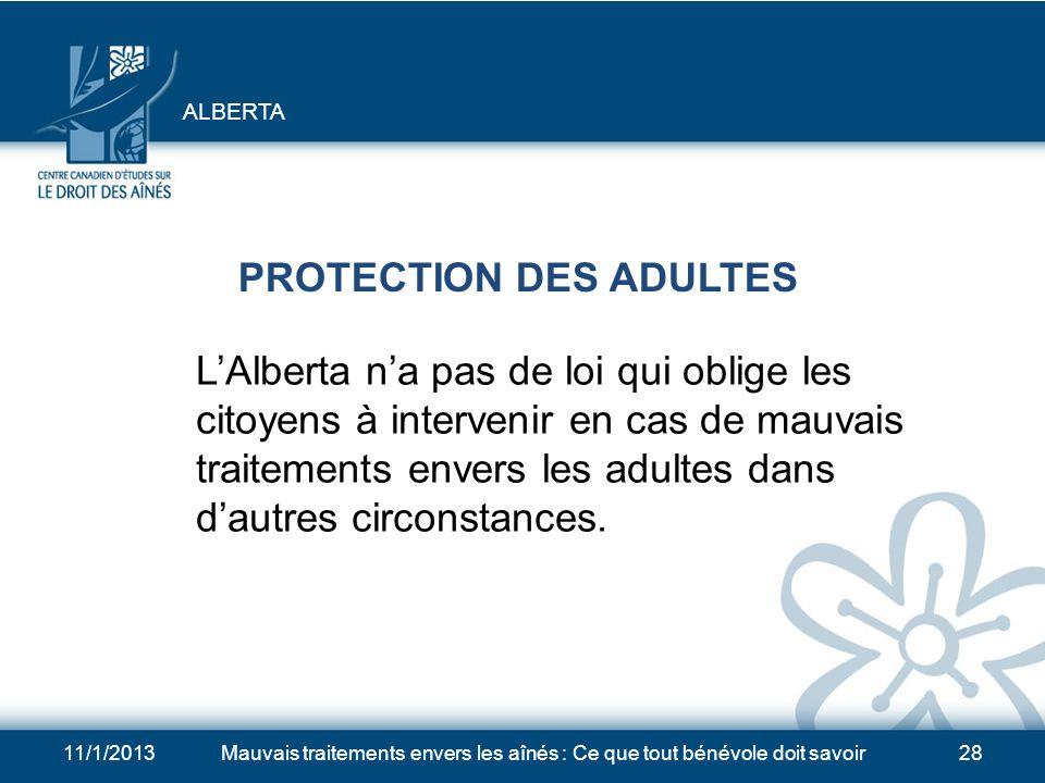 11/1/2013Mauvais traitements envers les aînés : Ce que tout bénévole doit savoir27 MAUVAIS TRAITEMENTS DE LA PART DU DÉCISIONNAIRE REMPLAÇANT Le Minis