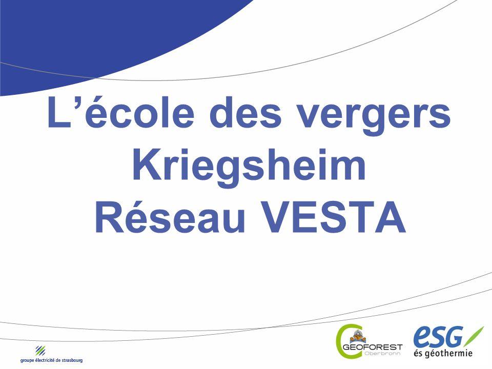 Lécole des vergers Kriegsheim Réseau VESTA