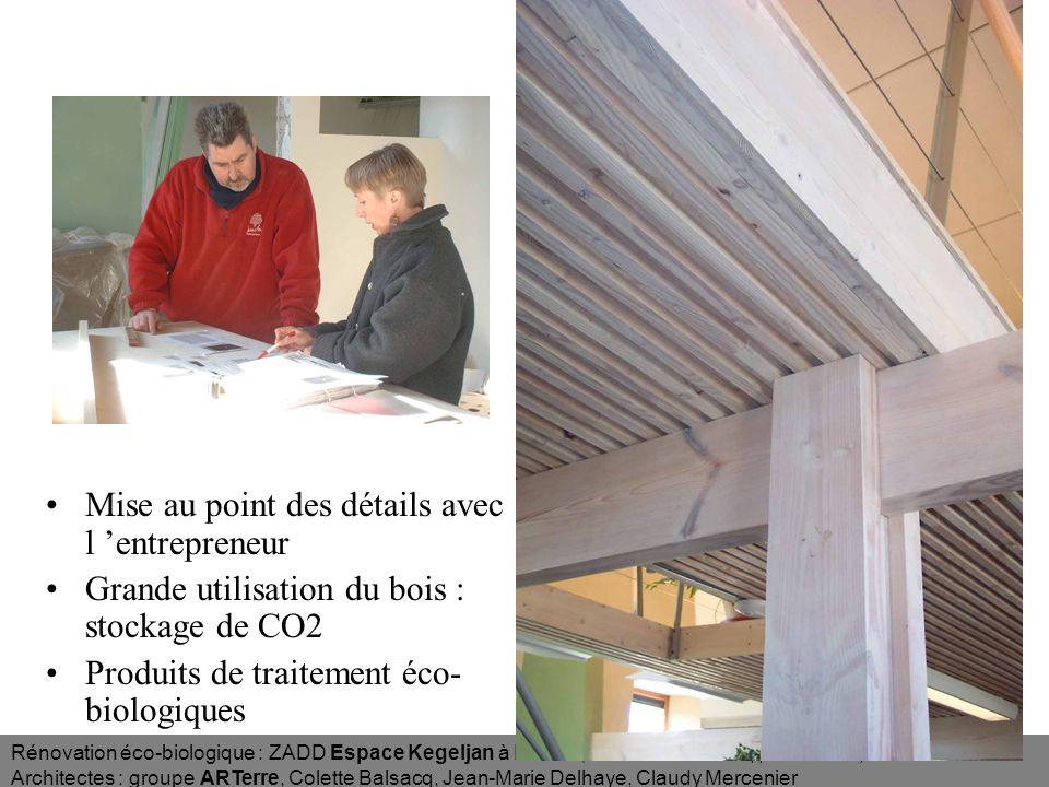Rénovation éco-biologique : ZADD Espace Kegeljan à Namur (Zone dActivité de Développement Durable) Architectes : groupe ARTerre, Colette Balsacq, Jean