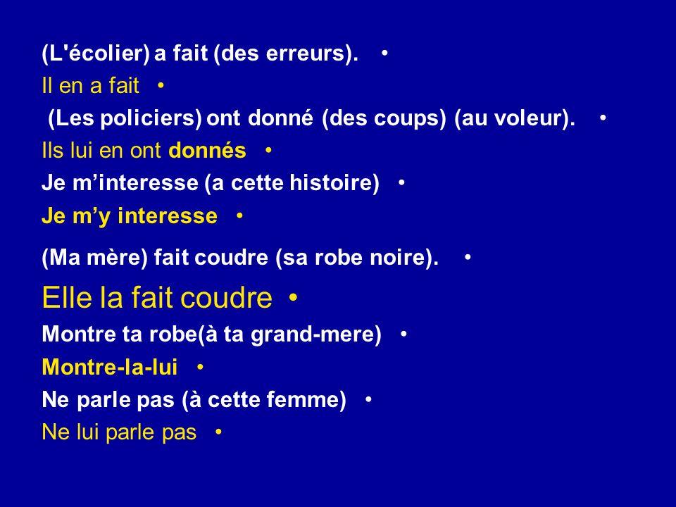 [……],tu pronoces bien le français Toi, tu pronoces bien le français [……],jécris le devoir Moi, j écris le devoir [……],nous sommes des bons élèves Nous, nous sommes des bons élèves [……],il regarde la télé.