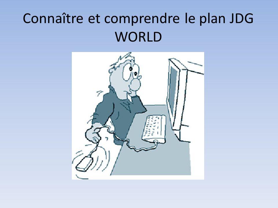 Connaître et comprendre le plan JDG WORLD