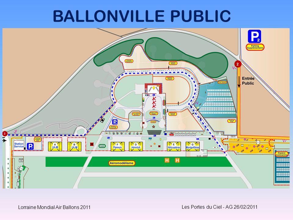 BALLONVILLE PUBLIC Les Portes du Ciel - AG 26/02/2011 Lorraine Mondial Air Ballons 2011