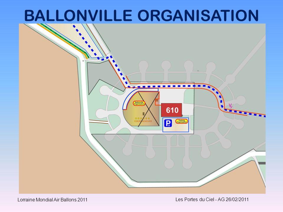 BALLONVILLE ORGANISATION Les Portes du Ciel - AG 26/02/2011 Lorraine Mondial Air Ballons 2011