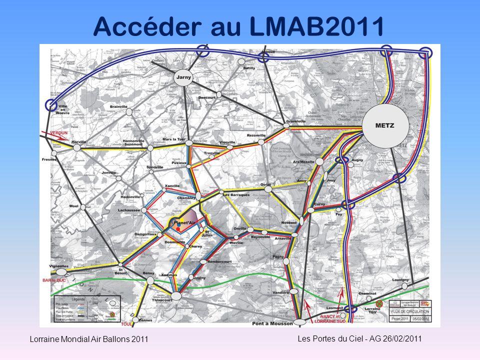 Accéder au LMAB2011 Les Portes du Ciel - AG 26/02/2011 Lorraine Mondial Air Ballons 2011