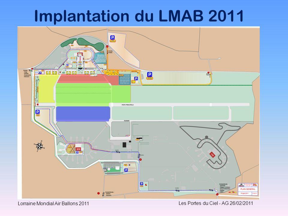 Implantation du LMAB 2011 Les Portes du Ciel - AG 26/02/2011 Lorraine Mondial Air Ballons 2011