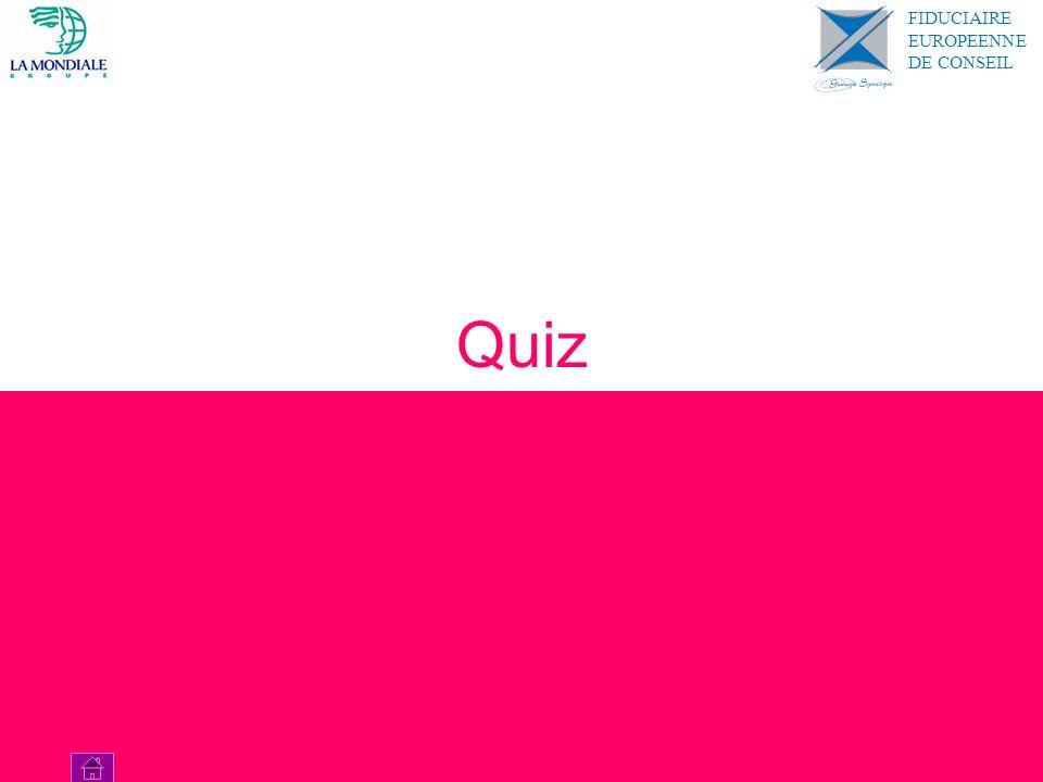 Quiz FIDUCIAIRE EUROPEENNE DE CONSEIL