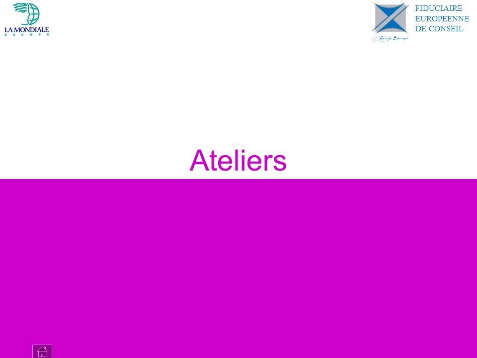 Ateliers FIDUCIAIRE EUROPEENNE DE CONSEIL