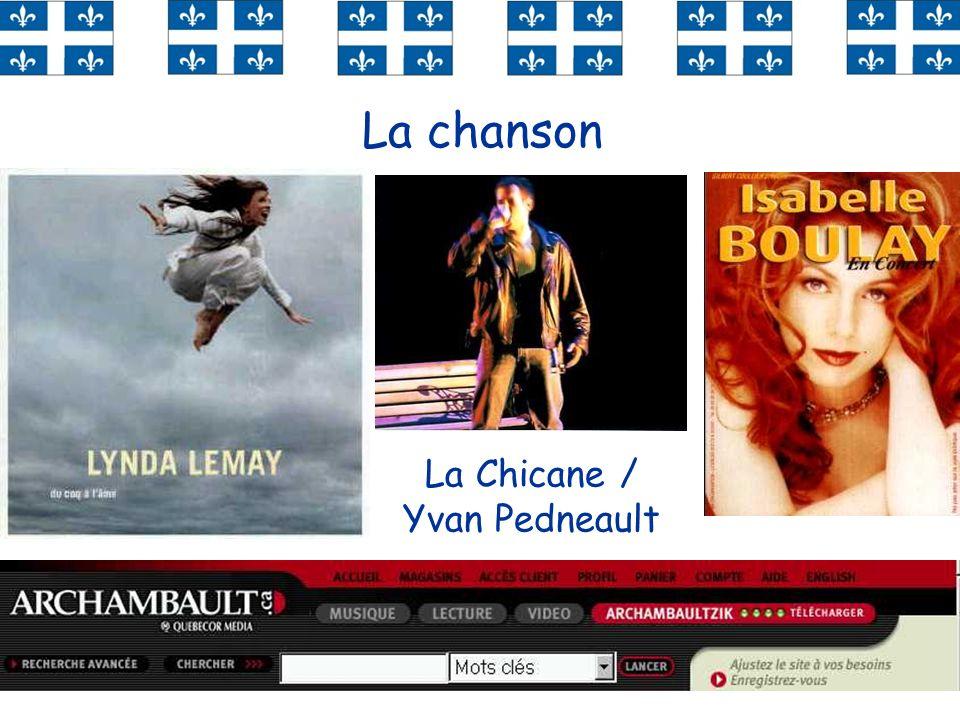 55 La chanson La Chicane / Yvan Pedneault