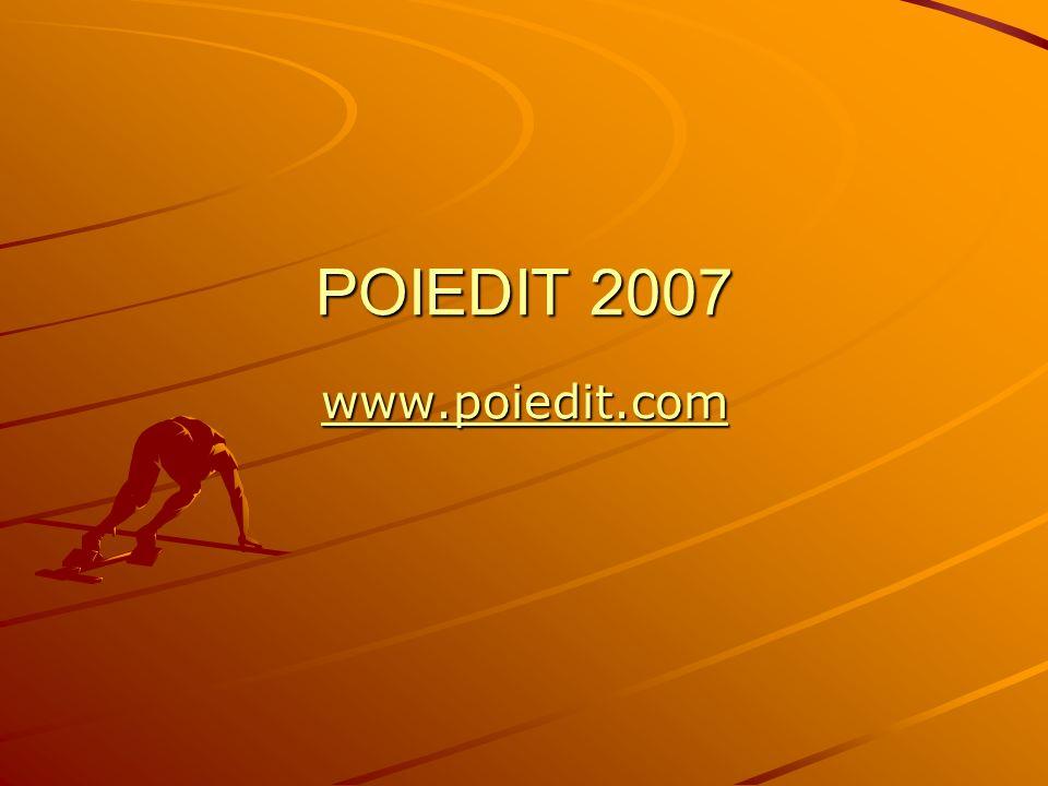 POIEDIT 2007 www.poiedit.com