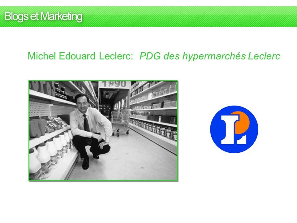 Michel Edouard Leclerc: PDG des hypermarchés Leclerc