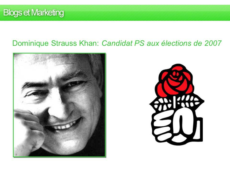 Dominique Strauss Khan: Candidat PS aux élections de 2007