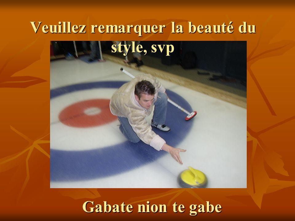 Veuillez remarquer la beauté du style, svp Gabate nion te gabe