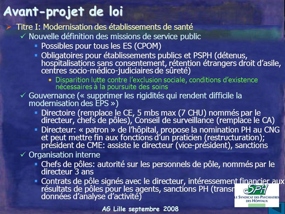 AG Lille septembre 2008 ARS (Ritter, Bur, conseil de modernisation politiques publiques) Compétences Pilotage de lorganisation de loffre de soins ambu