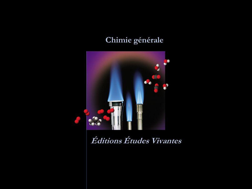 Chimie générale Éditions Études Vivantes