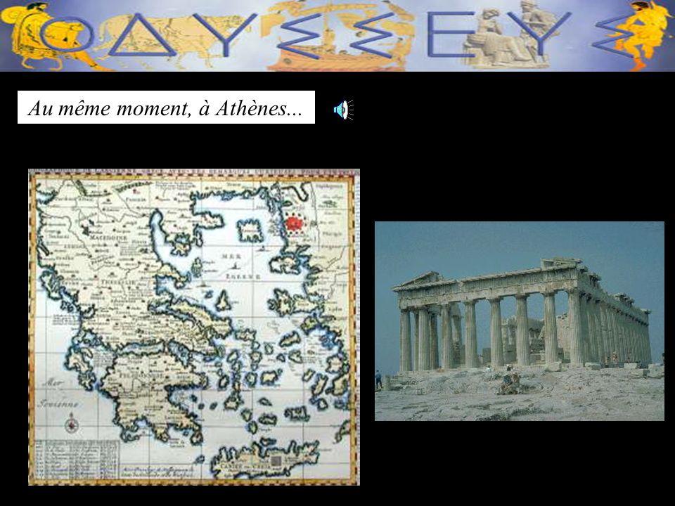 Mayari senvole avec loiseau magique. Elle traverse lOcéan Atlantique et la mer Méditérannée.