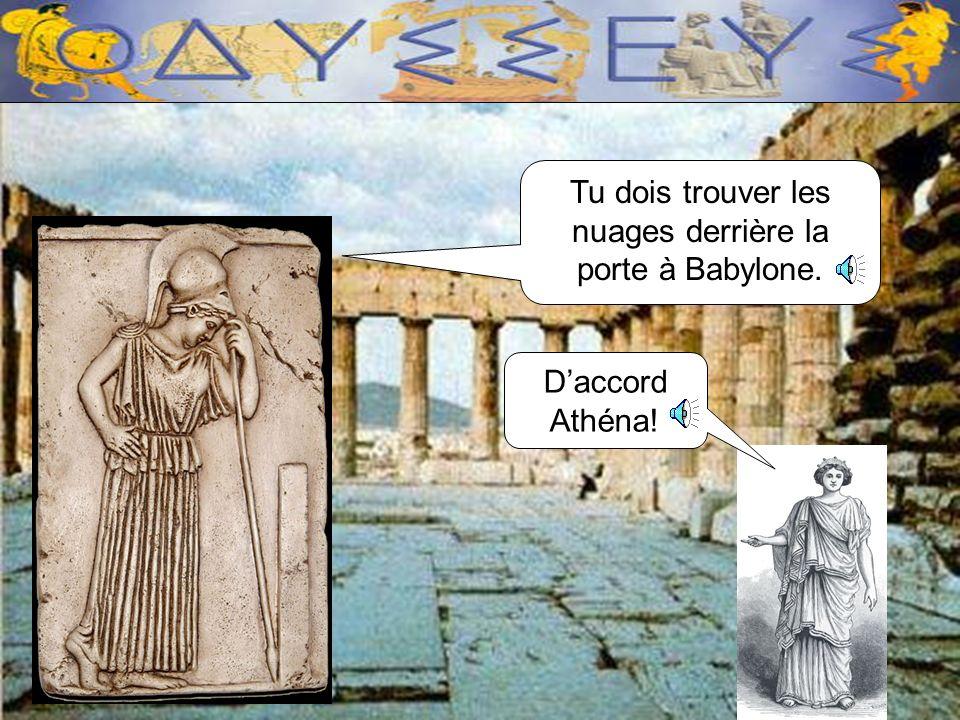 Je suis Athéna, la déesse Grecque. Andreiomenos approche!! Nous avons un problème : il ny a plus deau!