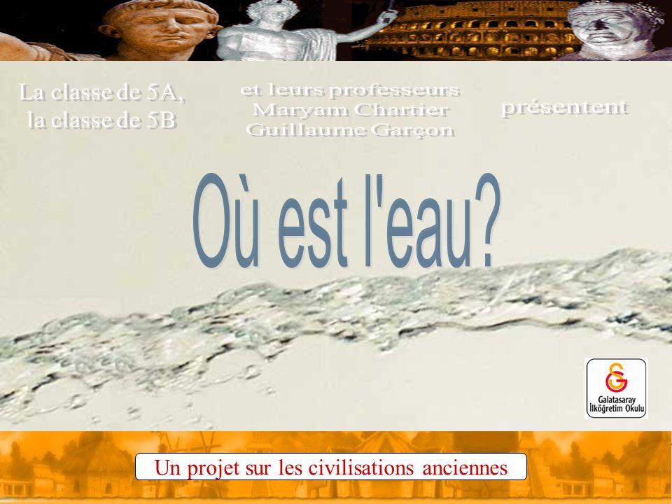 Un projet sur les civilisations anciennes