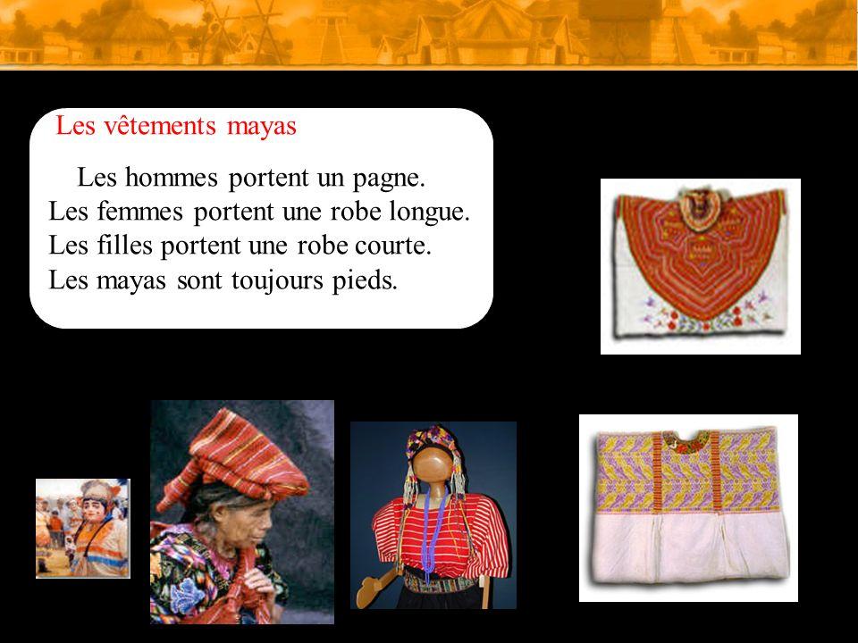 Les vêtements chez les Egyptiens Les hommes portent une tunique. Les femmes portent Une robe longue. Les femmes portent des bracelets. Les hommes port