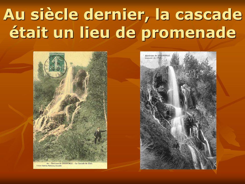 Pas de trace de la cascade… « … je crois que c est ce que l on appelait étant enfant la Petite Cascade.