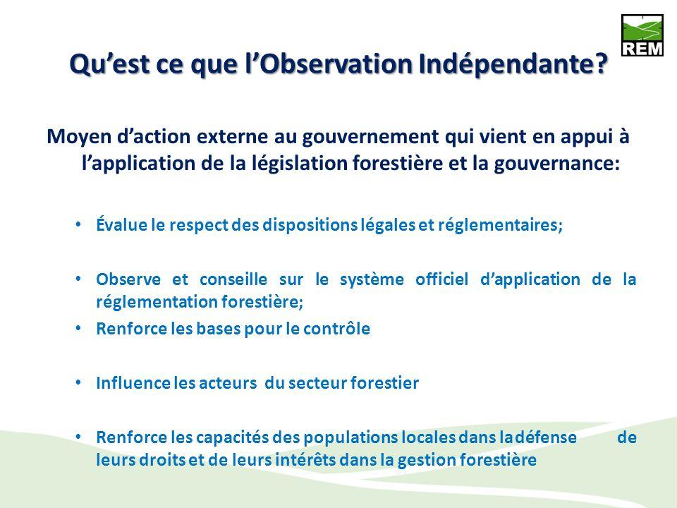 Plan Quest ce que lObservation Indépendante Les justifications de lObservation Indépendante Les bases juridiques de lObservation Indépendante en RDC L
