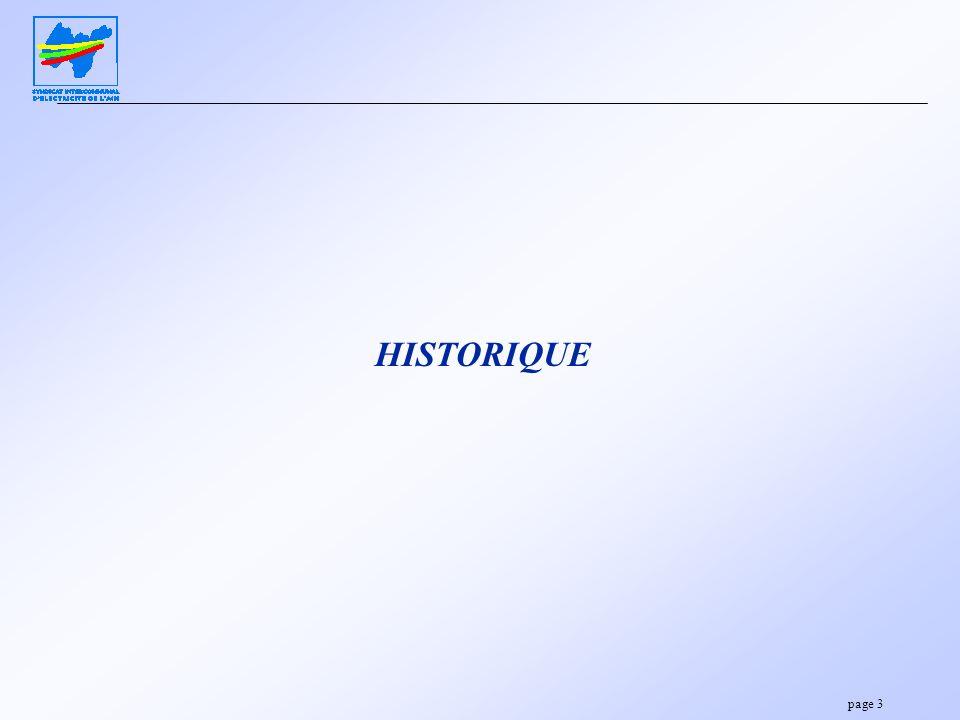 page 3 HISTORIQUE
