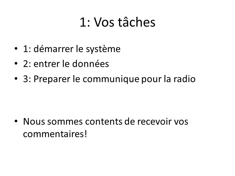 1: Comment démarrer le système RadioMarché Regardez l ordinateur portable du système RadioMarché au bureau de Sahel Eco Déverrouillez ce laptop – Mot de passe: voices Cliquez ce logo: Puis regardez le formulaire suivant: Nom dutilisateur: saheleco Password: saheleco Press on [Login]