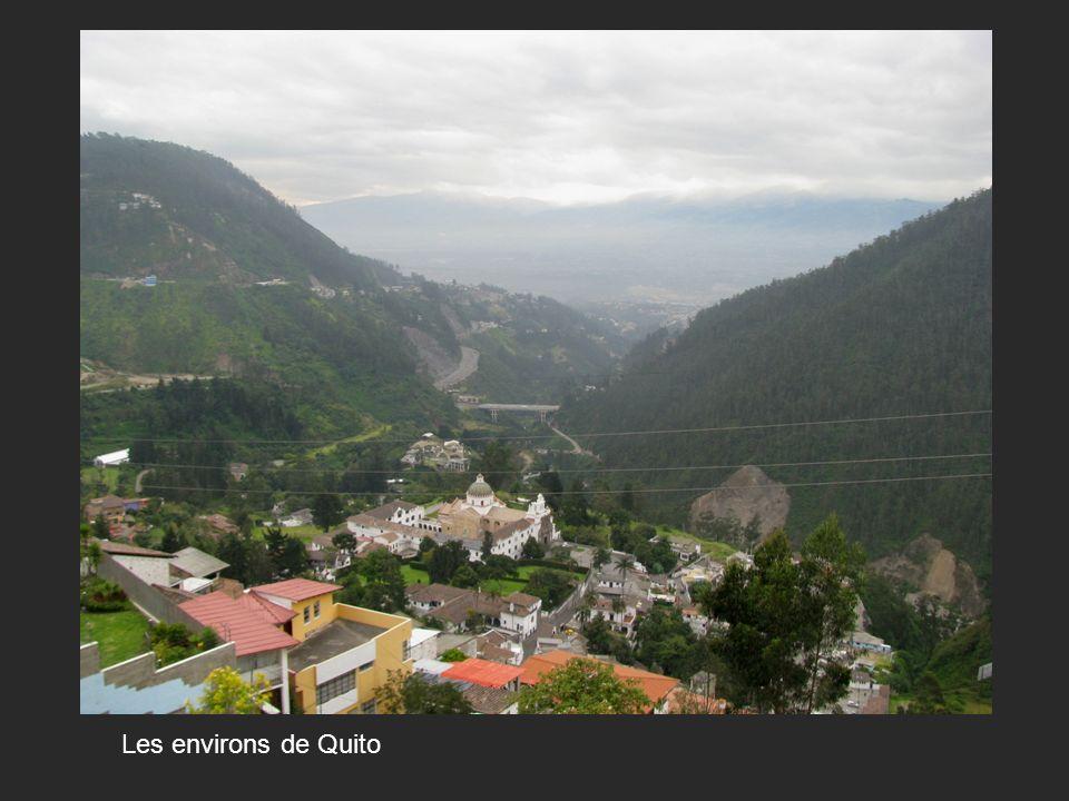 Les environs de Quito