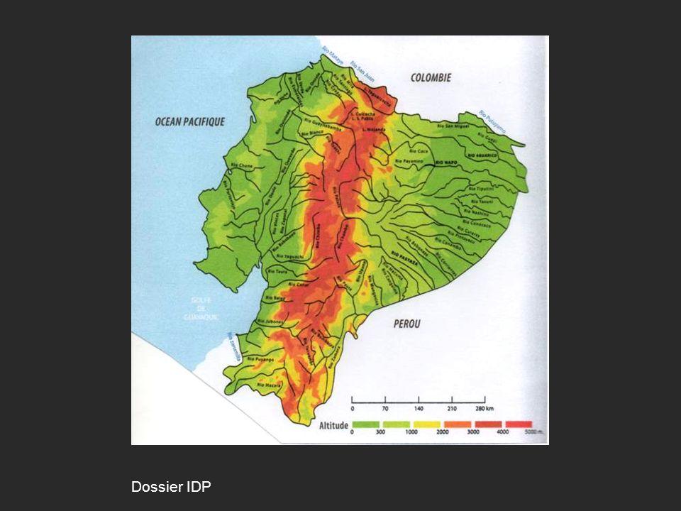 LEquateur : un pays touristique Atlas del Ecuador