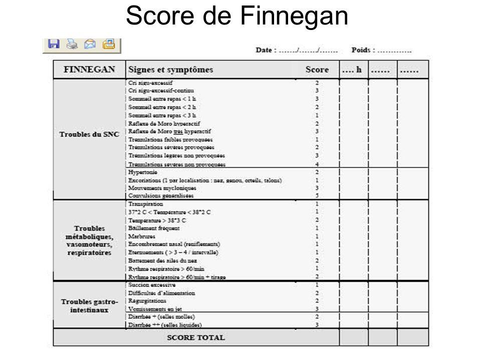 Score de Finnegan