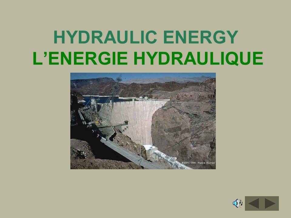 HYDRAULIC ENERGY LENERGIE HYDRAULIQUE