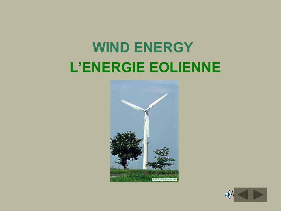WIND ENERGY LENERGIE EOLIENNE