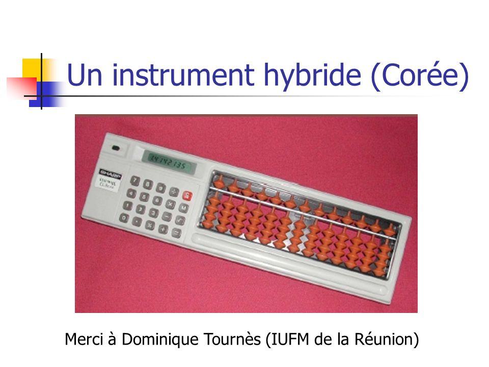 Un instrument hybride (Corée) Merci à Dominique Tournès (IUFM de la Réunion)