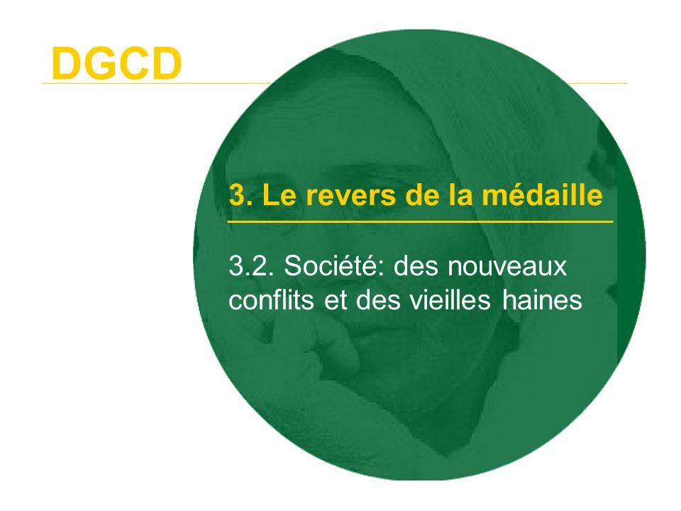 DGCD 3.3. La marginalisation de la coopération 3. Le revers de la médaille