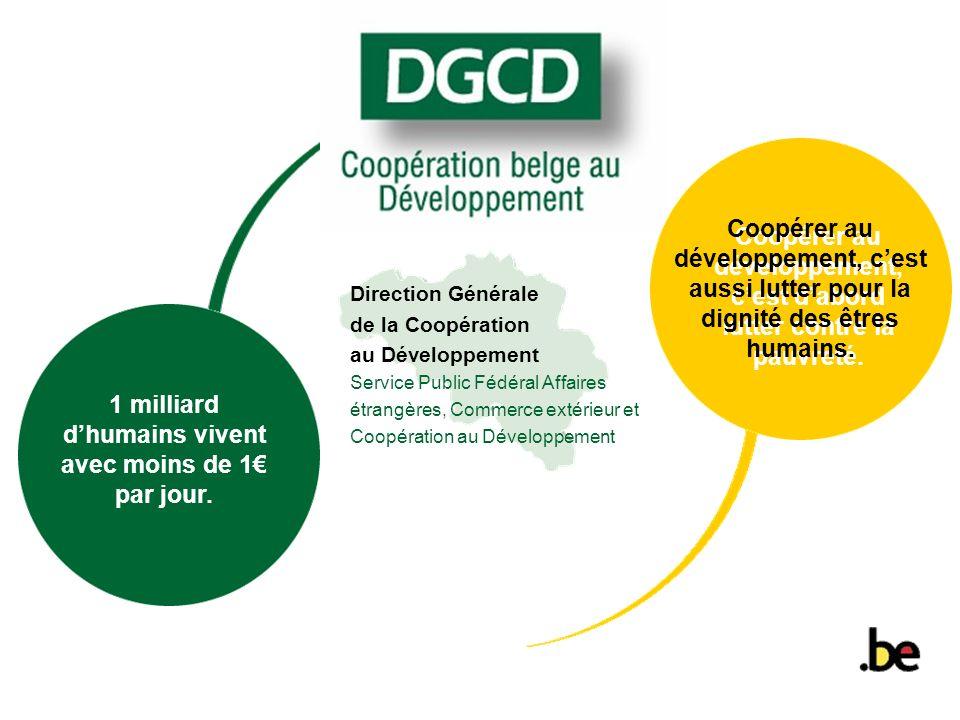 Table des matières DGCD 1.Introduction 2. Le contexte international:leçons du passé 3.