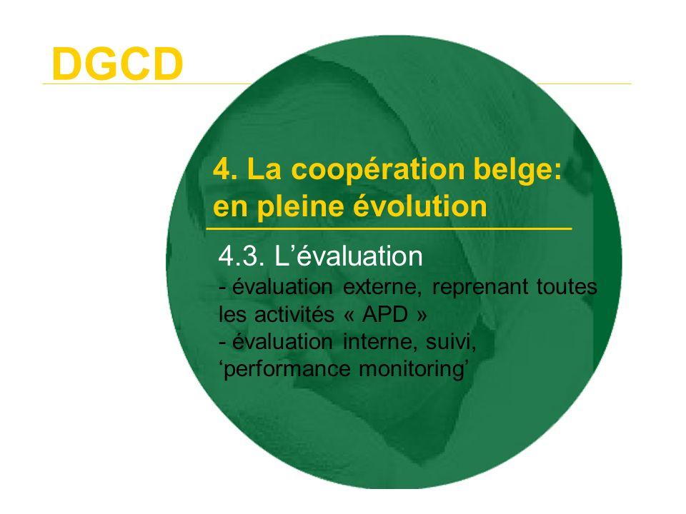 DGCD 4.4.Lorganisation administrative - Copernic: nouvelles opportunités 4.