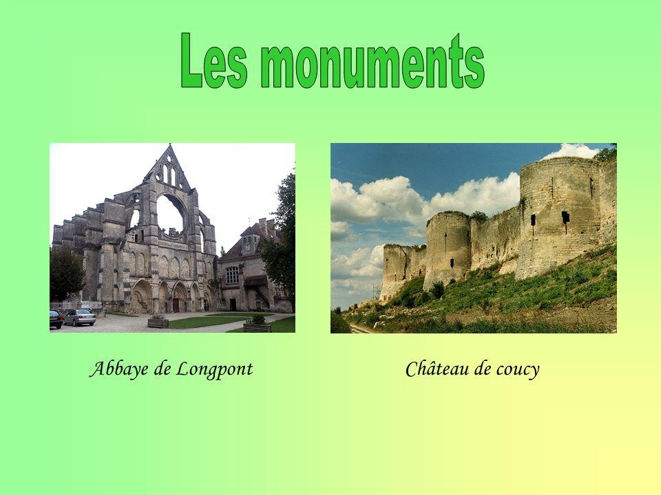 Abbaye de LongpontChâteau de coucy