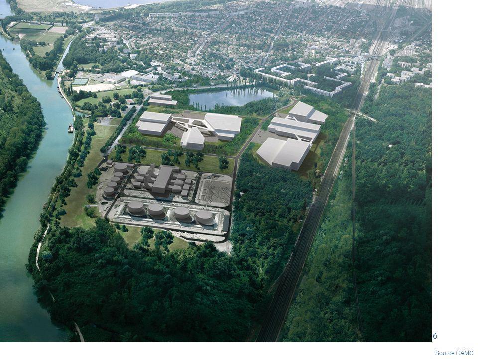 7 ZAC Gué de Launay – Dans le cadre du développement économique, la Communauté a privilégié : La reconversion danciens sites industriels Lextension des zones dactivité existantes
