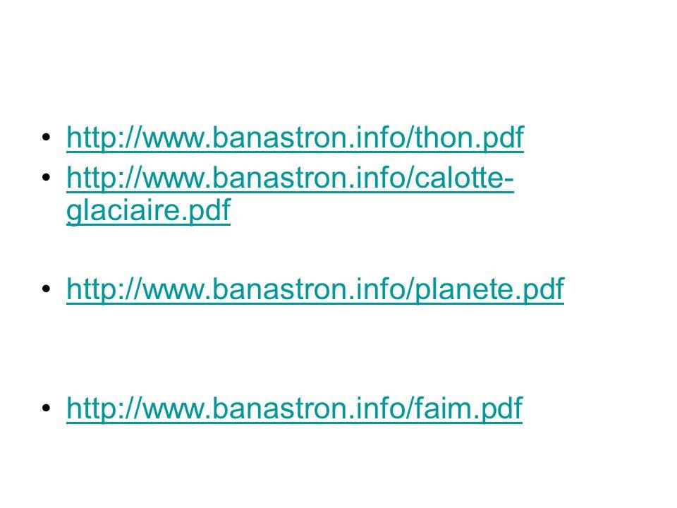http://www.banastron.info/thon.pdf http://www.banastron.info/calotte- glaciaire.pdfhttp://www.banastron.info/calotte- glaciaire.pdf http://www.banastr