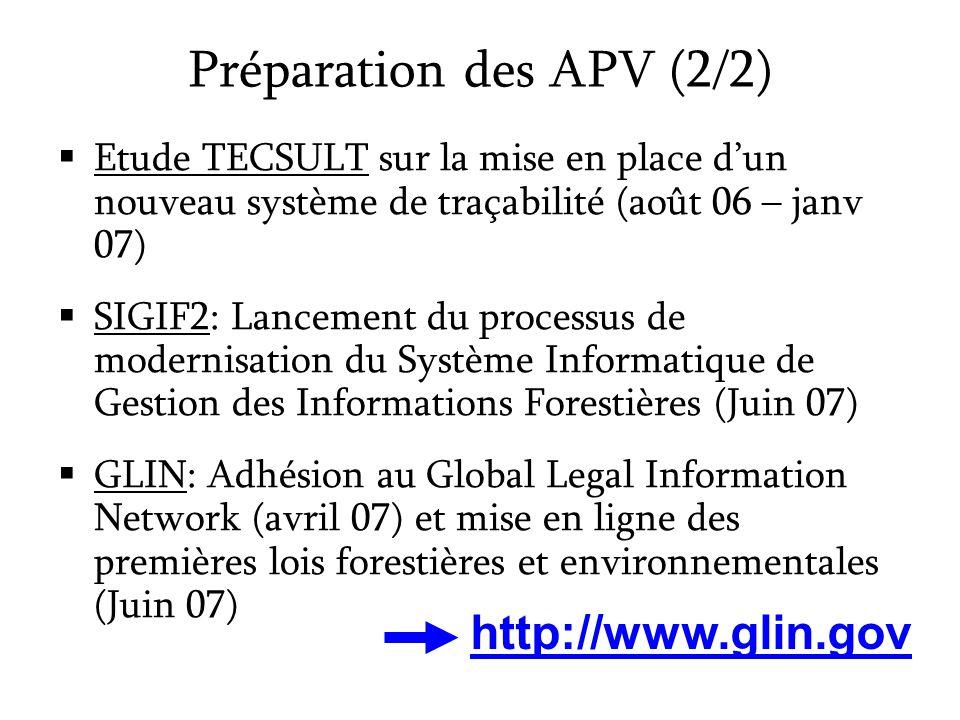 Etude TECSULT sur la mise en place dun nouveau système de traçabilité (août 06 – janv 07) SIGIF2: Lancement du processus de modernisation du Système I