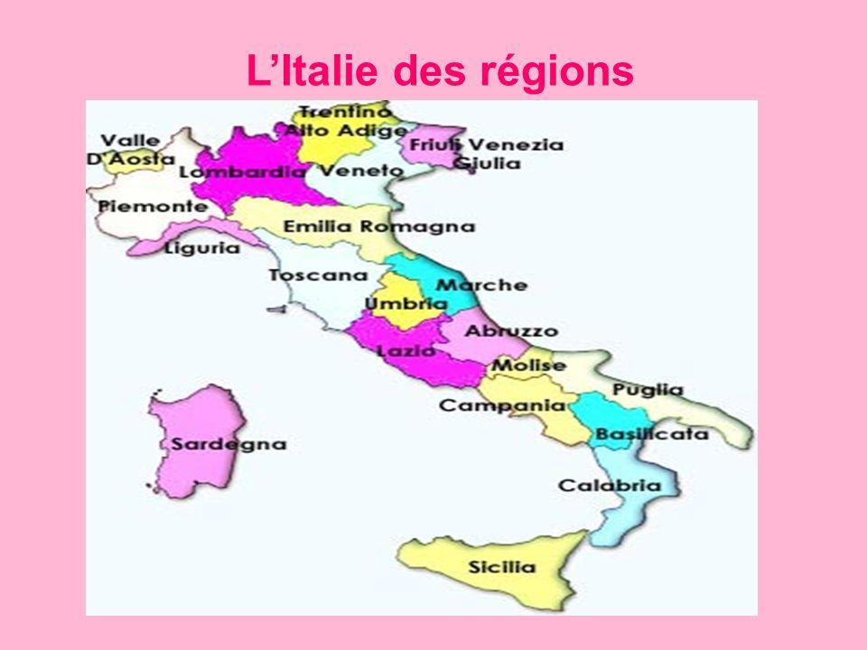 LItalie des régions