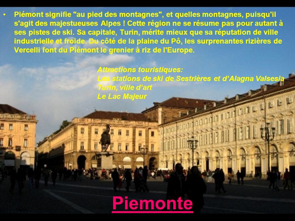 Piemonte Piémont signifie