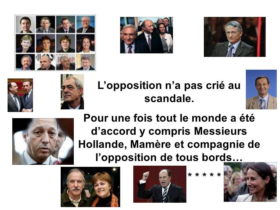 Jean-Louis Debré a fait voter à l'unanimité et dans le silence complet, une loi pour que désormais, un député non réélu touche pendant 60 mois au lieu