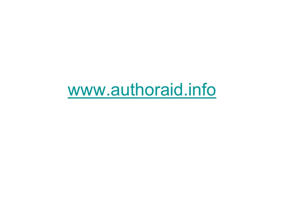 www.authoraid.info